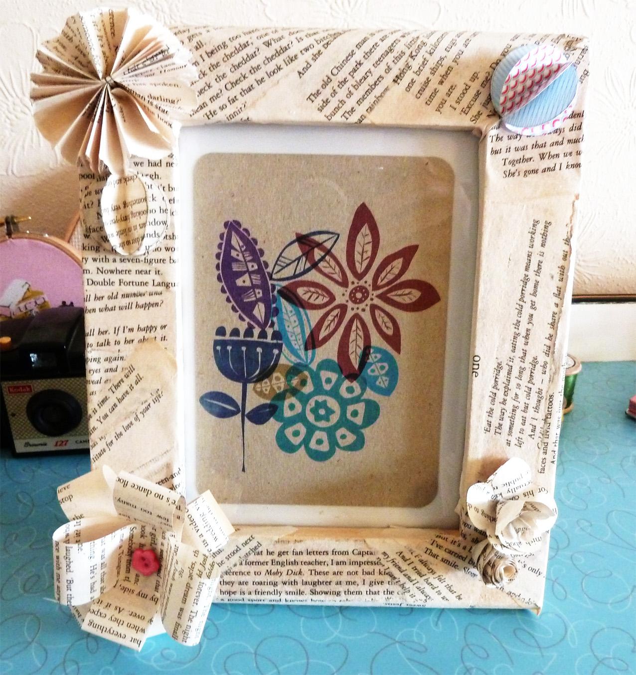 Picture Frame Decorations: Samantha Eynon: Frame Decorating Workshop