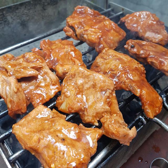 Asian style pork ribs, sticky pork ribs