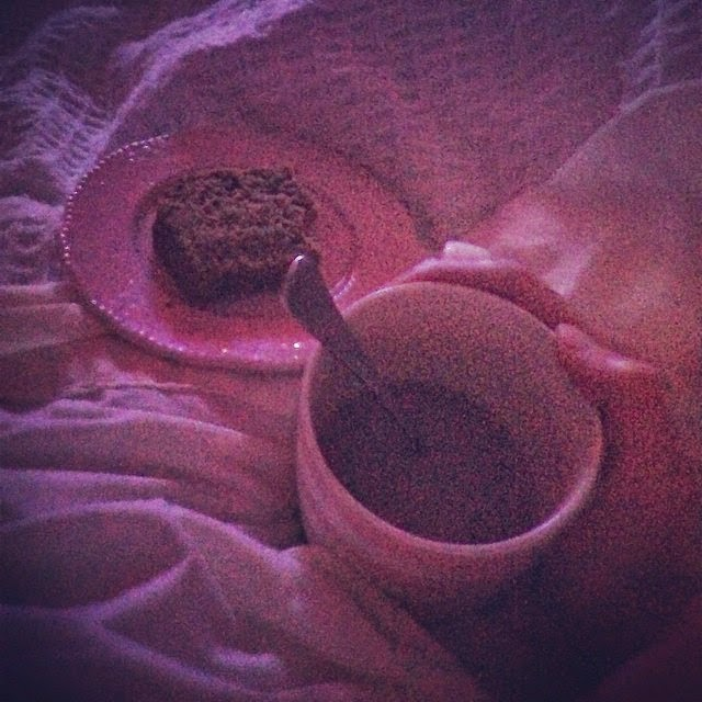 At Home Date Night - Hot Chocolate and Movies in Bed