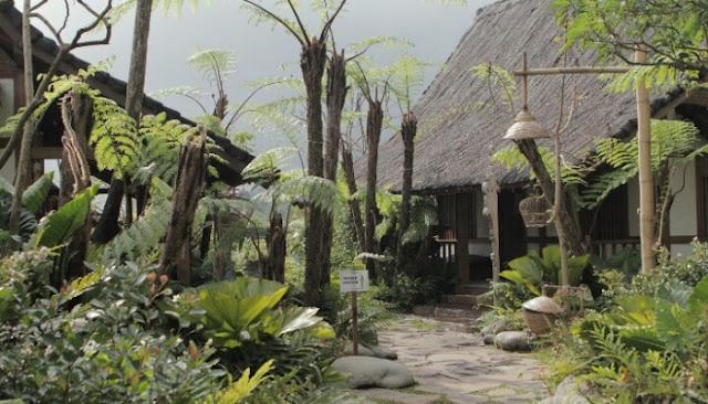 kampung layung dusun bambu lembang