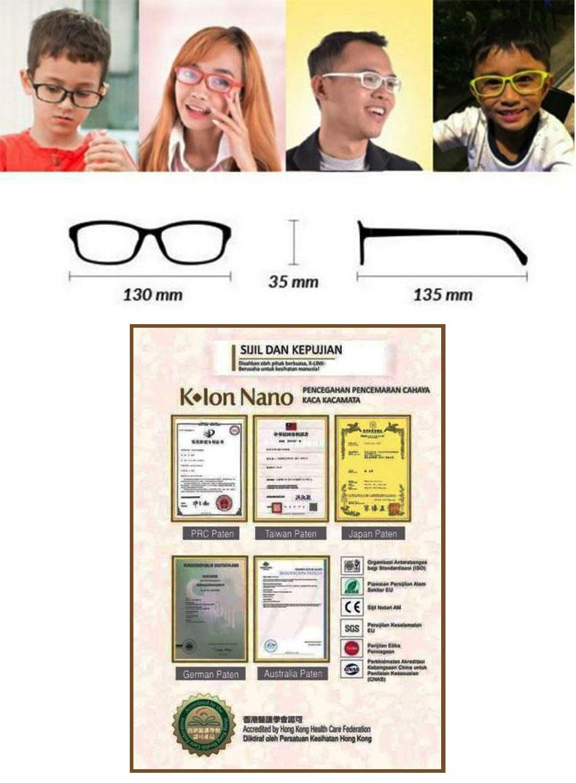 Kacamata anti radiasi
