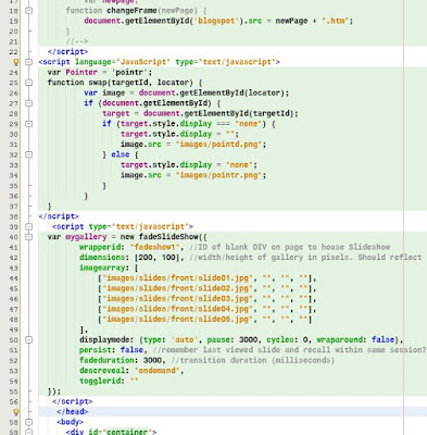 My own code under construction