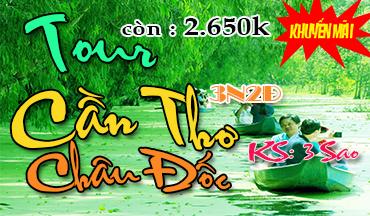Tour Du Lich Can Tho Chau Doc 3 Ngay 2 Dem