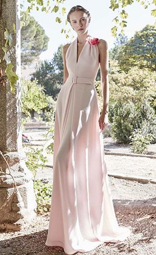 vestido largo invitada boda Dolores Promesas Heaven primavera verano