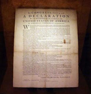 Corn-Driscoll copy of Dunlap Broadside at Dallas Public Library