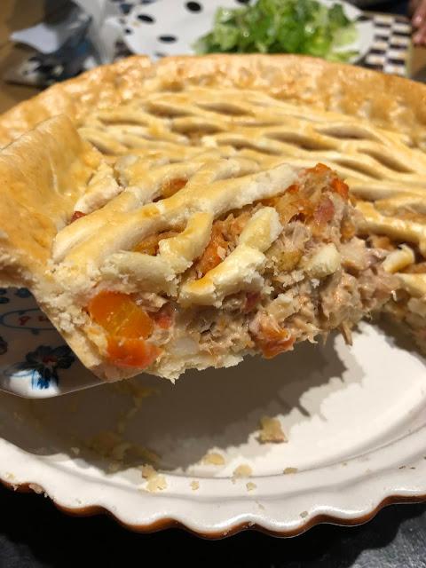 Tuna pie recipe @www.thecookiecouture.com