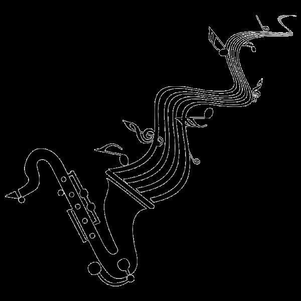 Dibujos De Saxofon Para Imprimir Imagui