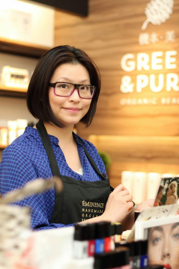 Green & Pure store owner Wing Yu