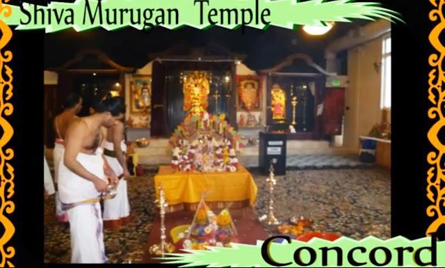 Shiva Murugan Temple Concord SFO