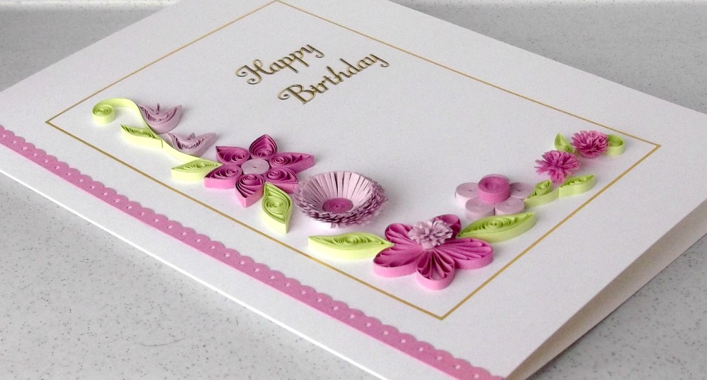 paper daisy cards new twist on old design