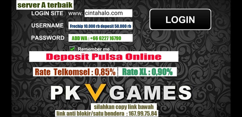 Deposit  Pulsa Online - Agen Pulsa | DOMINOHALO  Gambar1