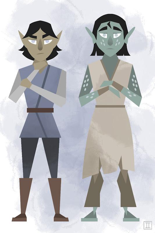 Young Thamoran and Kyriion