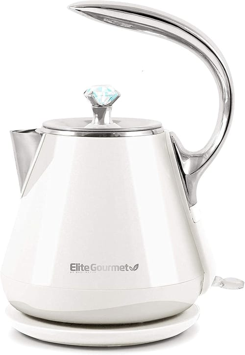 Elite Gourmet Double Wall Touch Electric Kettle