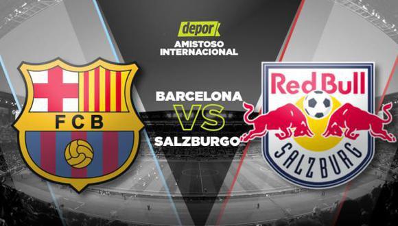 Barcelona vs. Salzburgo EN VIVO: minuto a minuto en DIRECTV