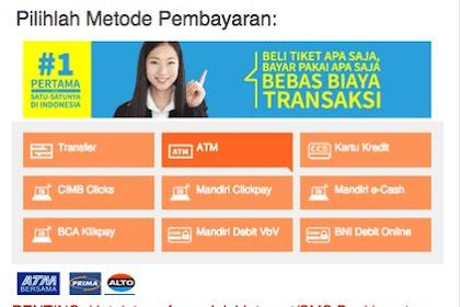 Cara Pembayaran Traveloka Via Transfer ATM Mandiri Bca Bni dan Bri