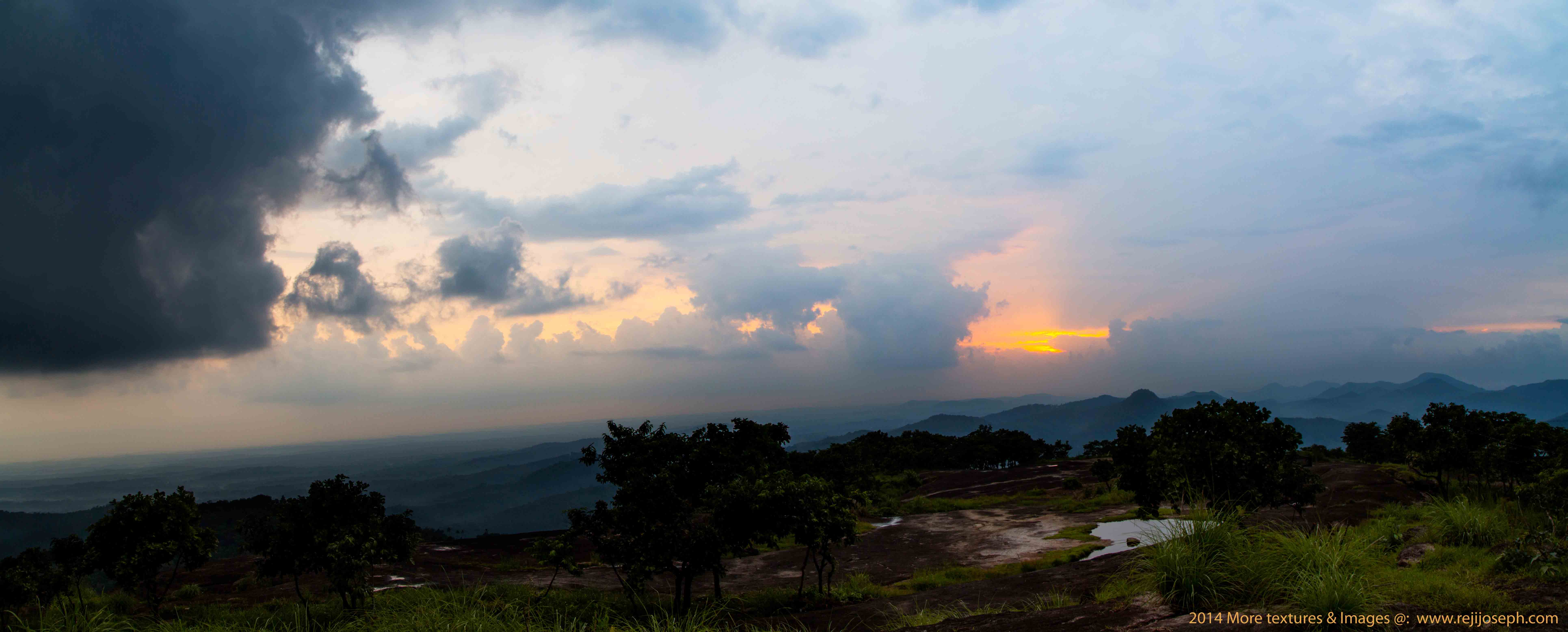 Sunsets Panoramic View Ayyampara hills Theekoy 00012