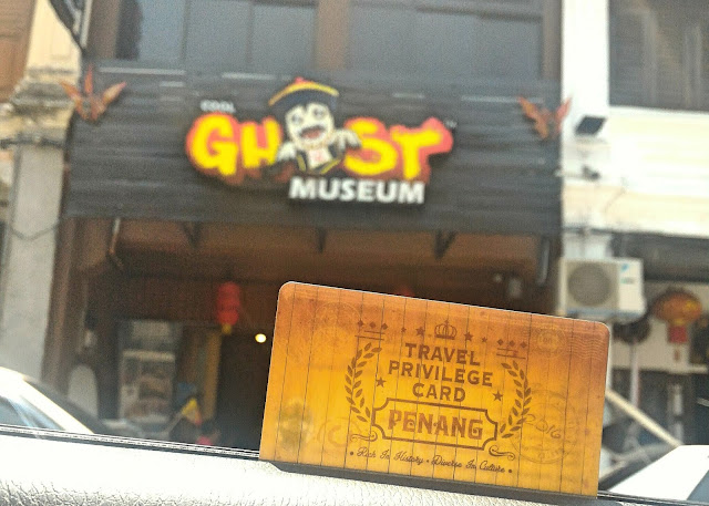 Travel Privilege Card being used at Ghost Museum Penang. Photograph: Zac Teo/Penang365.com
