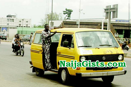 bus driver beats wife iron rod lagos