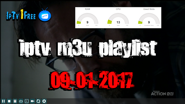 iptv m3u playlist 09-01-2017