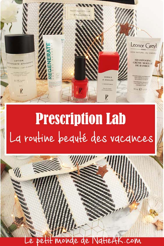 impressions sur la box beauté  Prescription Lab