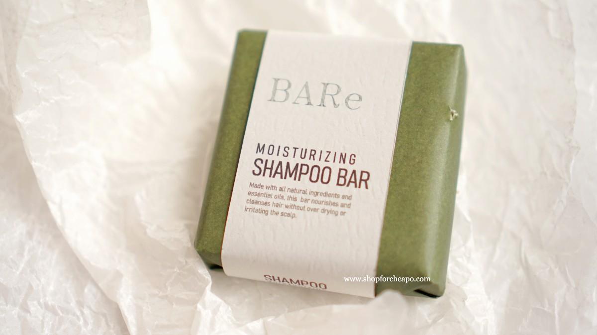 kemasan shampoo bar warna hijau