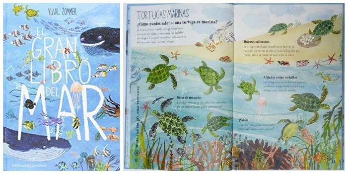 cuentos libros lecturas recomendadas verano 2018 El gran libro del mar