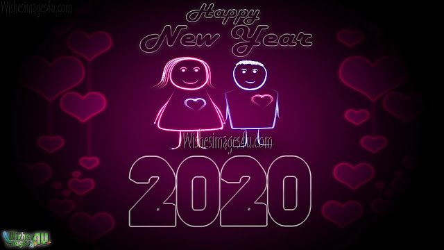 New Year 2020 Romantic Love Greetings