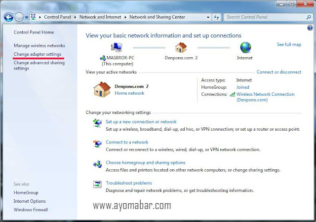 Cara Mengubah DNS Google di Komputer Windows 7