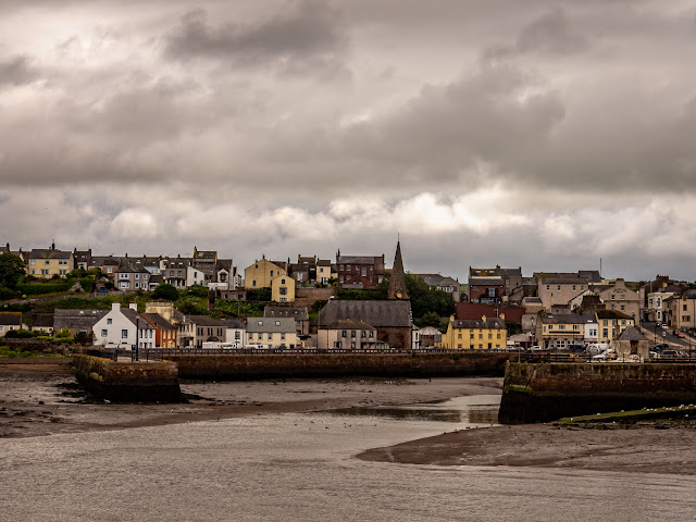 Photo of Maryport from across the basin