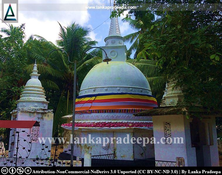 Jinendrarama Tempita Viharaya, Warapalana