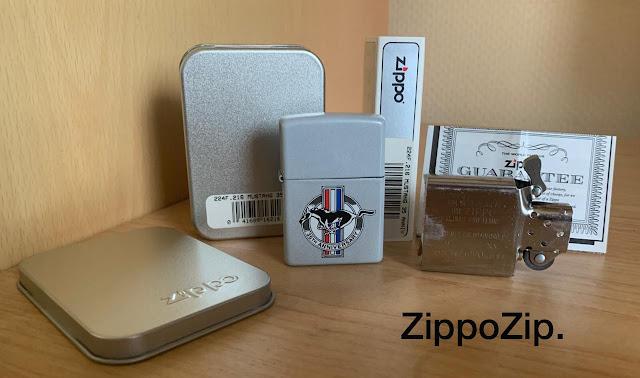 Zippo Mustang 35 Anniversary