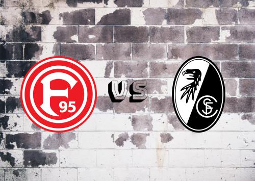 Fortuna Düsseldorf vs Freiburg  Resumen
