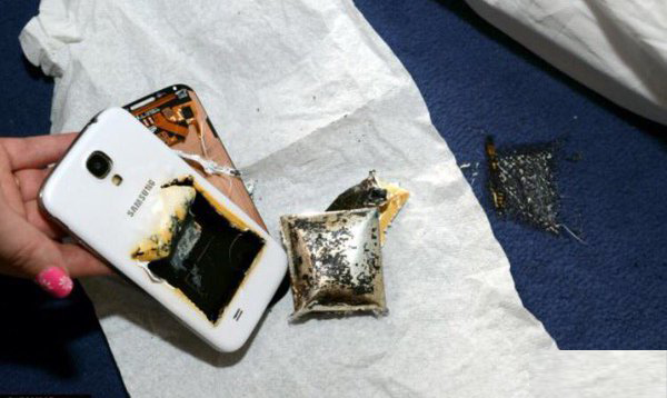 انفجار هاتف