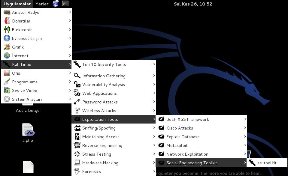 Hack Facebook Account Via Kali Linux