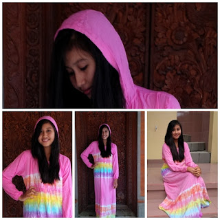 Gambar Azzahra Dress Pelangi Hoody