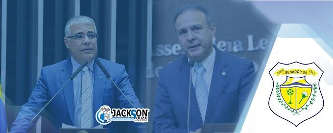 Dep. Robério Monteiro e o Senador Eduardo Girão deverão destinar verba de 400 mil para Senador Sá, afirma blog CS1.