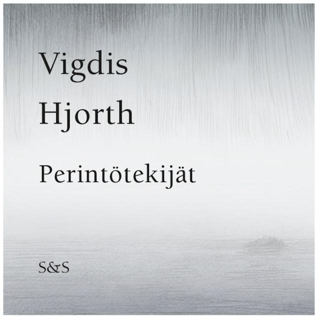 Vigdis Hjorth - Perintötekijät -kirjan kansi