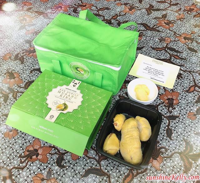 Hernan Food, Musang King Durian,  Musang King Durian Snowy Cake, Musang King, Durian, Dessert, Food