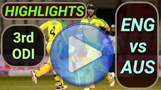 ENG vs AUS 3rd ODI 2020
