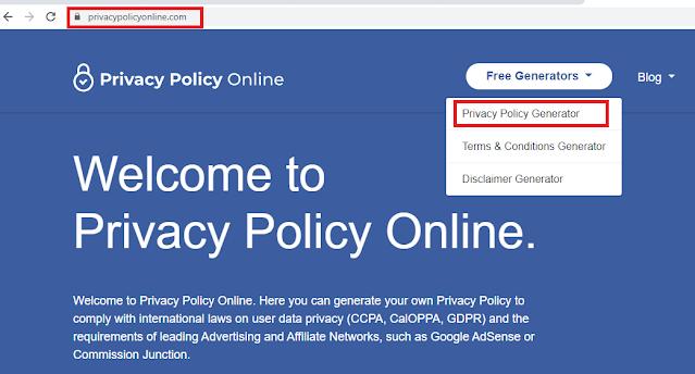 tutorial membat halaman about contact, Privacy Policy, Disclaimer di Blog