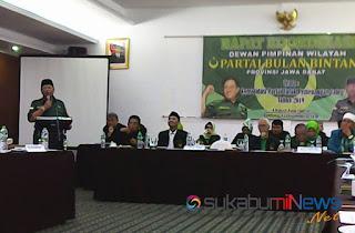 Hampir seluruh Pengurus Dewan Pimpinan Cabang Partai Bulan Bintang (DPC PBB) se-Jawa Barat mendorong Yusril untuk mendukung pasangan capres-cawapres 2019 nomor urut 1, Jokowi-Ma'rup.