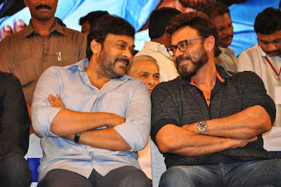 megastar Chiranjeevi,Venkatesh at MB40 Years Celebrations photos