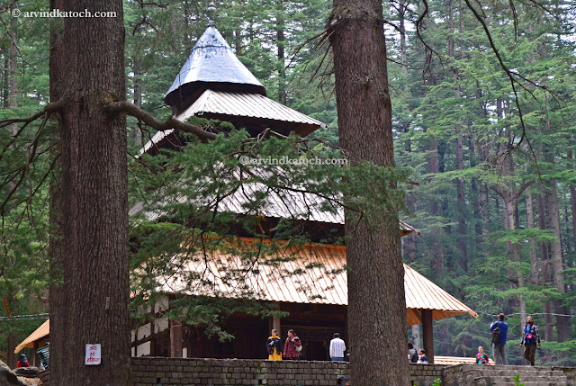 Hadimba Temple, Manali, Himachal, View of Temple,