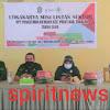 Bhabinkamtibmas Desa Kalekomara Hadiri Lokakarya Mini  Lintas Sektor UPT Puskesmas Komara