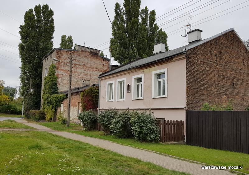 Warszawa Warsaw Targówek Fabryczny  architektura architecture zabytek stara zabudowa inna Warszawa ulice Targówka