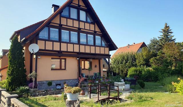 Casa típica alemana