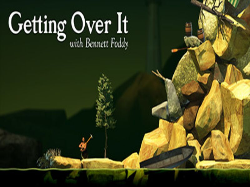 Download Getting Over It with Bennett Foddy Game PC Free