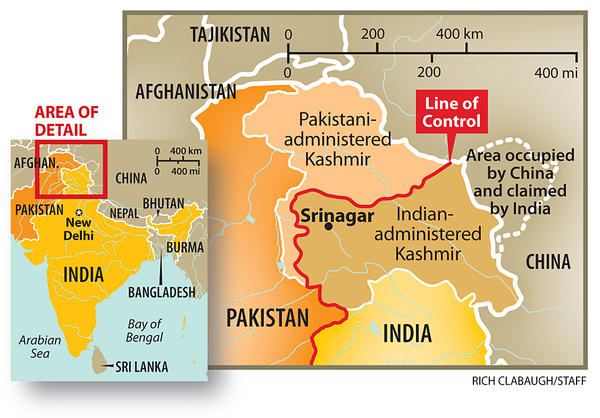 boundaries of india and pakistan relationship