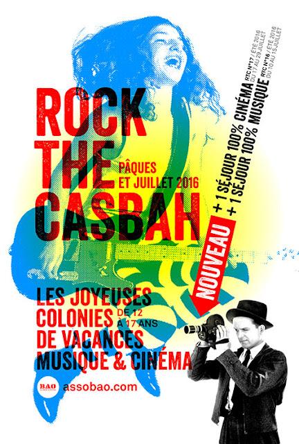 La colonie de vacances musique et cinéma Rock The Casbah