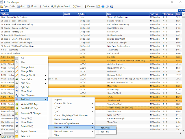 Screenshot Karaosoft KJ File Manager 3.6.2 Full Version